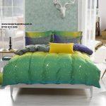 2016-New-Bedding-Set-Blue-Skynj-Bed-Linen-Bedspread-Bedding-Sets-Aloe-Cotton-Duvet-Cover-Twin